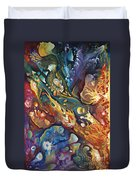 In The Beginning Duvet Cover by Ricardo Chavez-Mendez