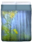 In The Blue Forest Duvet Cover