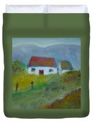 In The Bluestack Mountains Duvet Cover