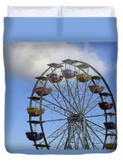 Around In The Clouds Duvet Cover