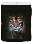 Tiger In Your Face Duvet Cover