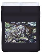 In The Depth Of Enchanting Forest Duvet Cover