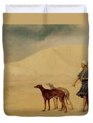 In The Desert Duvet Cover