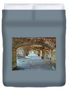 In The Fort Arches Duvet Cover