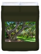 In The Garden. Mauritius Duvet Cover
