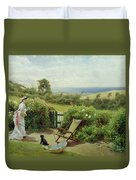 In The Garden Duvet Cover by Thomas James Lloyd