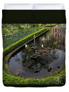 In The Heart Of Amsterdam Hidden Tranquility  Duvet Cover