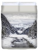 In The Heart Of The Winter Duvet Cover