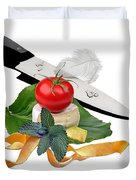 In The Kitchen 4 Duvet Cover
