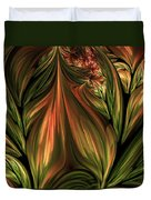 In The Midst Of Nature Abstract Duvet Cover