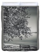 In The Moments When We Breathe Duvet Cover