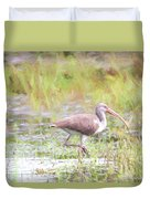 In The Pasture Grass Duvet Cover