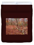 In The Shadows Of Fall 1 Duvet Cover