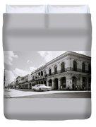 The Streets Of Havana Duvet Cover
