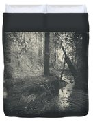 In This Silence Duvet Cover by Laurie Search
