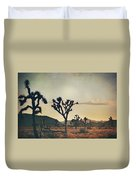 In Your Arms As The Sun Goes Down Duvet Cover