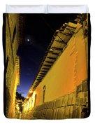 Incan Street Cusco Peru Duvet Cover