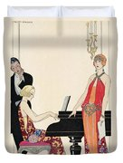 Incantation Duvet Cover by Georges Barbier
