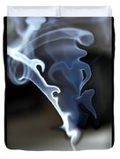 Incense Smoke Dance - Smoke - Dance Duvet Cover