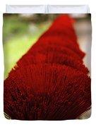 Incense Sticks Duvet Cover