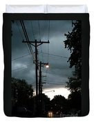 Incoming Storms Duvet Cover