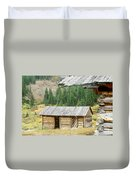 Independence Ghost Town Duvet Cover