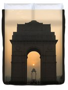 India Gate, Delhi Duvet Cover