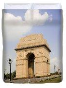 India Gate, New Delhi, India Duvet Cover