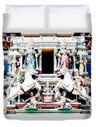 India Religion Duvet Cover