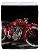 Indian 8-valve Racer Duvet Cover