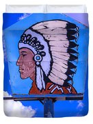 Indian Chief Sign Duvet Cover