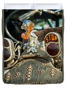 Indian Chopper Taillight Duvet Cover