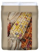 Indian Corn Duvet Cover