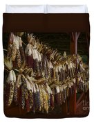 Indian Corn Harvest Duvet Cover