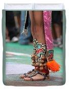Indian Feet Duvet Cover