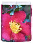 Indian Hawthorne Duvet Cover