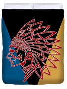 Indian Head Series 01 Duvet Cover