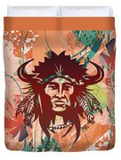 Indian Head Series 02 Duvet Cover