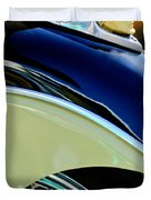 Indian Motorcycle Fender Emblem Duvet Cover