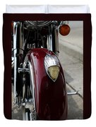Indian Motorcycle Duvet Cover