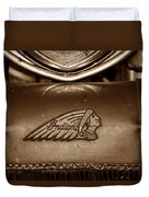 Indian Motorcycles Duvet Cover
