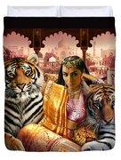 Indian Princess Duvet Cover