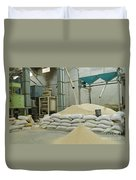 Indian Rice Mill Duvet Cover