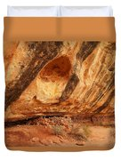 Indian Ruins  Duvet Cover by Jeff Swan