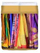 Indian Sarees Duvet Cover