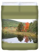 Indian Summer Acadia Park Duvet Cover