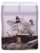 Indiana Harbor 1  Duvet Cover