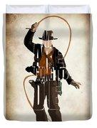 Indiana Jones Vol 2 - Harrison Ford Duvet Cover