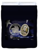 Indianapolis Metro Police Memorial Duvet Cover by Gary Yost