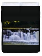 Indianhead Dam - Montgomery County Pa. Duvet Cover